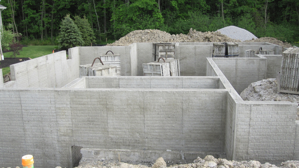 Concrete block foundation the taylor made team House foundations types